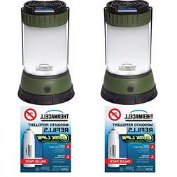 ThermaCELL Mosquito Repellent Camping Lanterns: 2-Pack + 4 M