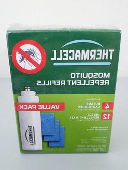 Thermacell Mosquito Repellent Refills Value Pack; 12 Mats &