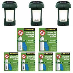 Thermacell MR-9L Outdoor Mosquito Repellers/Lanterns  & Six