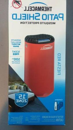 Thermacell MR-PSR Patio Shield Mosquito Repeller, Fiesta Red
