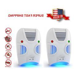Non-toxic Ultrasonic Insect Pest Repeller Repellent - Set of