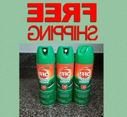 OFF! Deep Woods Insect Repellent 6 oz 3 Pack Mosquitoes Tick