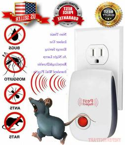 Pest Reject Pro Ultrasonic Repeller Home Bed Bug Mites Spide