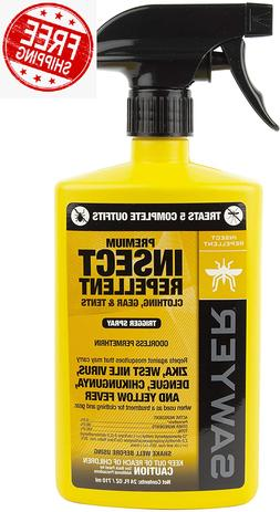 Sawyer Products Premium Permethrin Insect Repellent for Clot