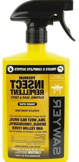 Premium Permethrin Insect Repellent for Clothing, Gear & Ten