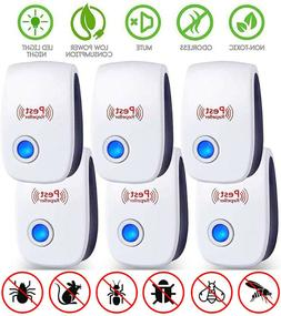 Electronic Pest Reject Control Ultrasonic Repeller Home Bug