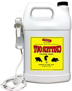 Deer Out / Mouse & Rat Repellent: Guaranteed to Work! Get Ri