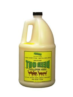 Deer Repellent :Deer Out 1 Gallon Concentrate Makes 10 Gallo
