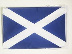 AZ FLAG Scotland Flag 18'' x 12'' Cords - Scottish Small Fla