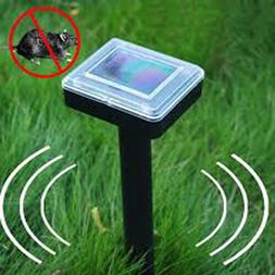Set of Two Solar Mole Repellers, Remove Pests From Garden