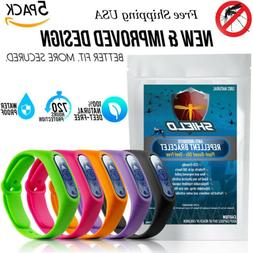 SHIELD Natural Anti Mosquito Insect & Bug Repellent Bracelet