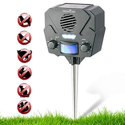 Ultrasonic Solar Repeller & Pest Repeller – With 1 Speaker