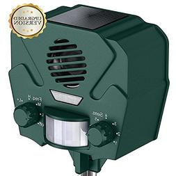 Hoont Solar Ultrasonic Rodent Repellent Outdoor Animal and P