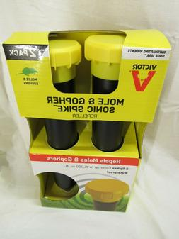 Victor Sonic Spike For Gophers/Moles Electronic Pest Repelle