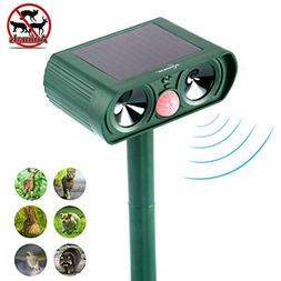 ultrasonic animal repeller flashing lights