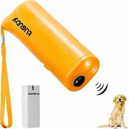 Frienda LED Ultrasonic Dog Repeller & Trainer Device 3 in 1