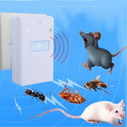 Ultrasonic Electronic Pest Control Rodent Rat Mouse <font><b