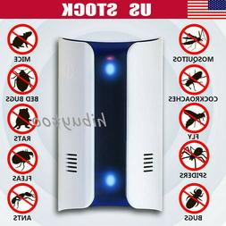Ultrasonic Electronic Plug Repeller Mosquito Mouse Spider In