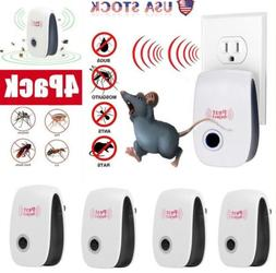 Ultrasonic Pest Control Repeller  Plug In Indoor Repellant F