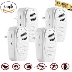 ALLOMN Ultrasonic Pest Repellent 3 in 1 Electronic Mosquito