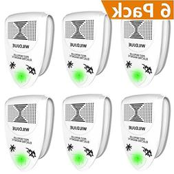 WILDJUE Ultrasonic Pest Repeller Pest Control  Spider Repell