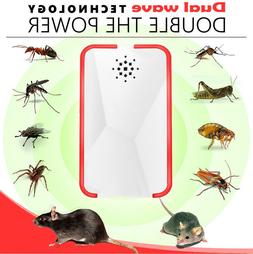 Ultrasonic Pest Repeller Mice Bug Mosquito Fly Cockroach Spi