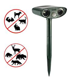 Ultrasonic Repeller Solar Powered Ultrasonic Animal Repeller