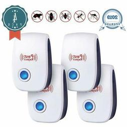 JALL Upgraded Ultrasonic Pest Repeller Plug in Pest Reject,