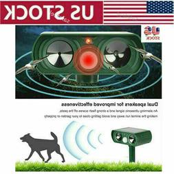 us animal repeller ultrasonic cat dog outdoor