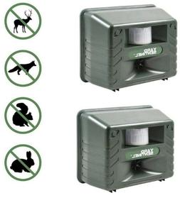 Aspectek Yard Sentinel 2 Pack Outdoor Ultrasonic Animal Cont